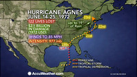 Hurricane Agnes summary