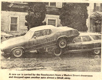 Hurricane Agnes, June 1972, Wilkes-Barre, Pennsylvania