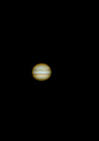 Jupiter - the King of Planets -- taken with webcam -- Copyright Ronald Zincone Photography