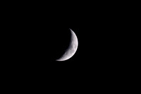 Crescent moon Copyright ronaldzinconephotography