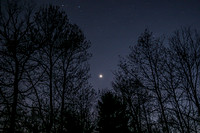 Venus over Richmond, Rhode Island copyright ronaldzinconephotography