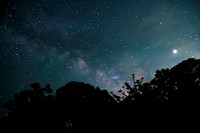 summer Milky Way, Jupiter and Satellites over Nauset, Cape Cod copyright ronaldzinconephotography
