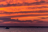 Sunset at Colt State Park, Bristol, RI  copyright ronaldzinconephotography