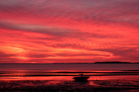 Red Dawn, Sunken Meadow Beach, Cape Cod copyright ronaldzinconephotography