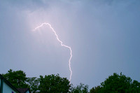 Cloud-to-ground Lightning, North Kingstown, RI copyright ronaldzinconephotography