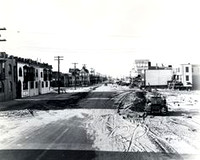 Atlantic City after The Great Atlantic Hurricane of 1944 Battered the NJ Shore