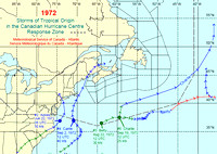 1972 Storms of tropical origin