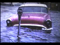 Beach 133rd Street in Rockaway, NY flooded during Hurricane Donna on Sept. 12, 1960