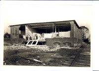 The entire second story of the Roselin Manufacturing Company was destroyed.