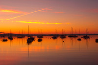Dawn, Jamestown Harbor copyright ronaldzinconephotography