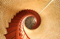 Inside Nauset Lighthouse, Chatham, MA copyright ronaldzinconephotography