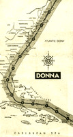 Donna track up eastern seaboard